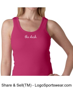 Bella Ladies 1 X 1 Rib Tank Top Design Zoom